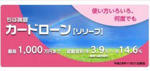 千葉興業銀行カードローン